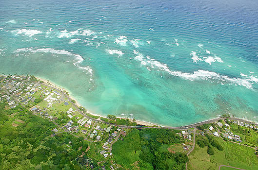 Oahu from Above by Mandy Wiltse