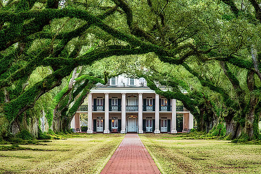 Oak Alley Plantation by Andy Crawford