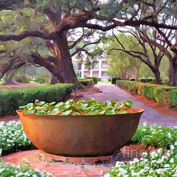 Oak Alley Plantation Sugar Pot by Tammy Lee Bradley