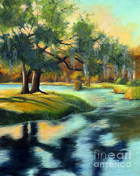 Oak at the Lake by Patricia Huff