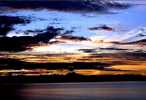 Oak Harbor Sunrise SR 1002 by Mary Gaines
