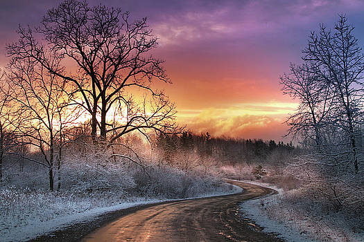 Oak Hill Sunrise by Rob Blair