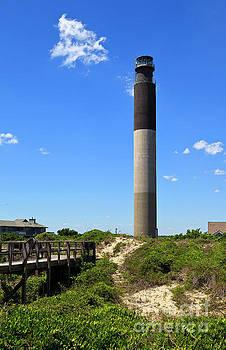 Jill Lang - Oak Island Lighthouse at Caswell Beach