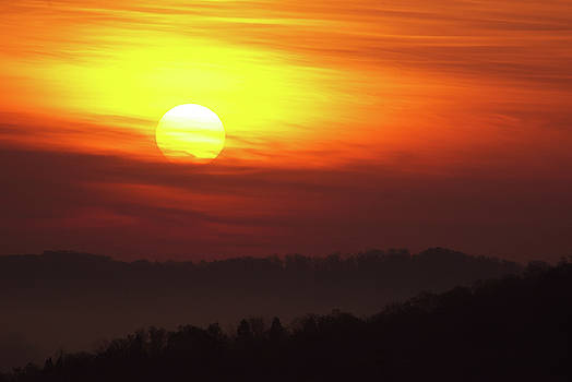 Oak Ridge Sunrise by Lance King