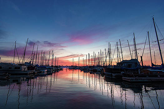 Oakland Boat Harbor by Daniel Danzig