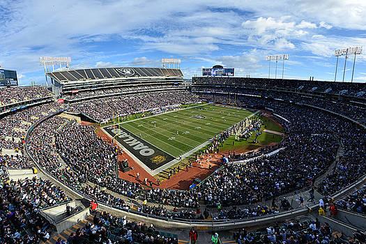 Oakland Raiders O.co Coliseum by Mark Whitt