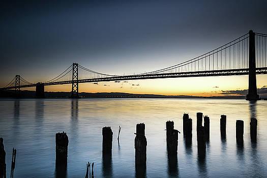 Oakland-San Francisco Bay Bridge by Daniel Danzig