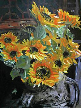 Oakland Sunflowers by Randy Bell