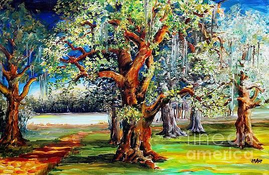 Oaks Along the Bayou by Diane Millsap