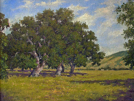Oaks by Marv Anderson