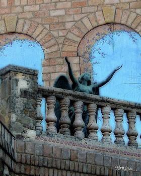 Oasis Angel #6112_a Balcony View by Barbara Tristan