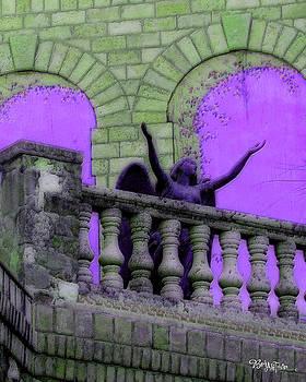 Oasis Angel #6112_b Balcony View by Barbara Tristan