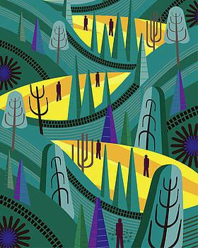 Oaxaca Pines by Charles Harker