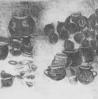 Lydia L Kramer - Oaxacca Pottery Market