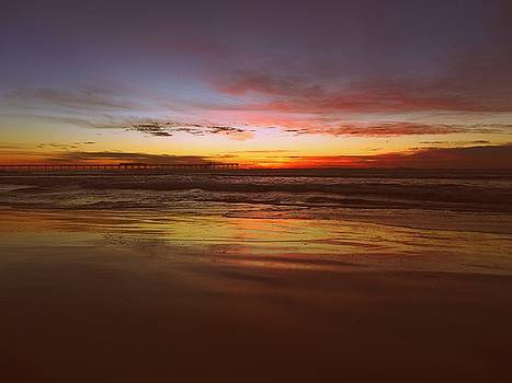 OB Sunset by Keith McGill