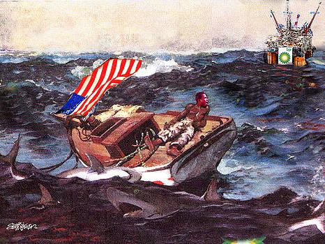 Obama at Sea by Seth Weaver