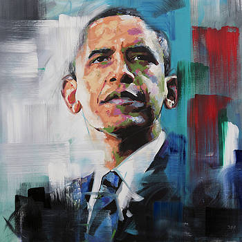 Obama by Richard Day