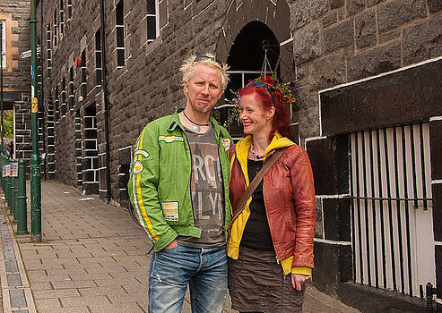 Oban Tourists by Kathleen McGinley