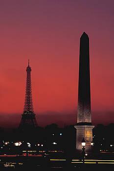 Obelisk in Paris, France by Stephen Fanning