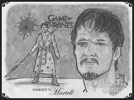 Oberyn Martell The Red Viper by Chris DelVecchio