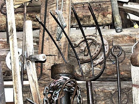 Kae Cheatham - Objects on a Barn Wall