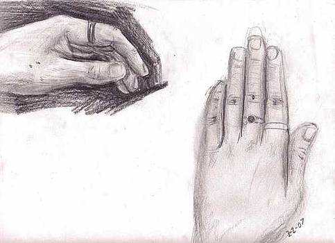 Observation- My Left Hand by Katie Alfonsi