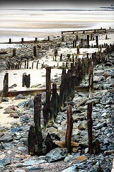 Obsolete Sea Defences at Llanfairfechan by John Quigley