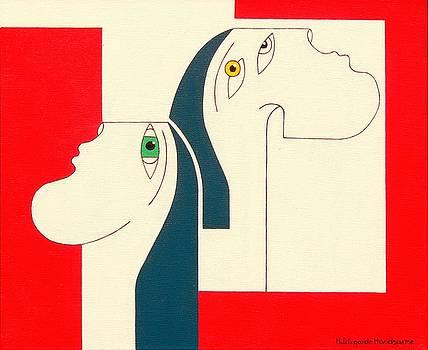 Obstinate by Hildegarde Handsaeme