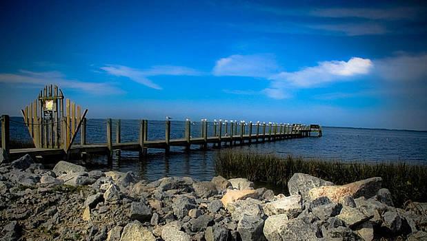 OBX Pier by Valerie Morrison