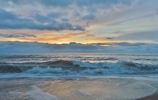 OBX Sunrise June 6 by Barbara Ann Bell