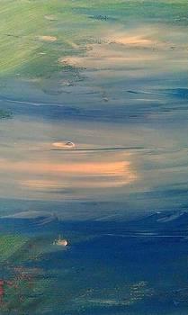 Ocean Abstract by Brad Scott