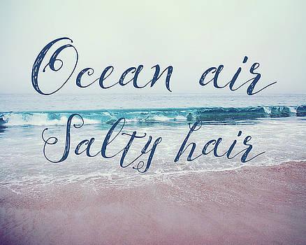 Ocean air Salty hair by Nastasia Cook