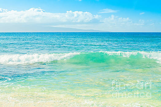 Ocean Blue Beach Dreams by Sharon Mau