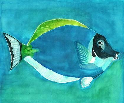 Ocean Blue Fish by Ramon Bendita