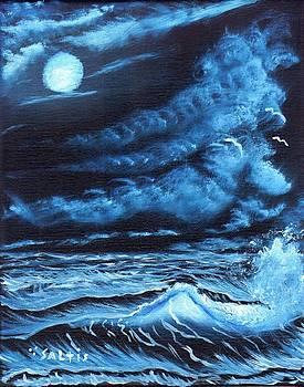 Ocean Blue by Jim Saltis