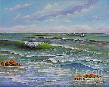 Ocean Breeze by Mary Scott