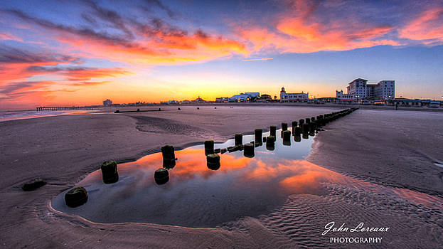 Ocean City Afterglow by John Loreaux