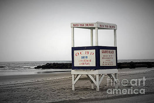 Ocean City Beach  by Denise Pohl