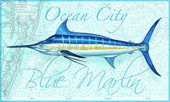 Ocean City Blue Marlin by Guy Crittenden