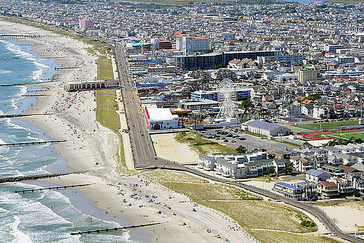 Ocean City Boardwalk by Dan Myers