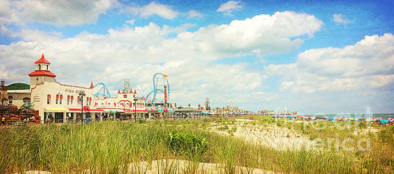 Ocean City Boardwalk Music Pier and Beach by Beth Ferris Sale