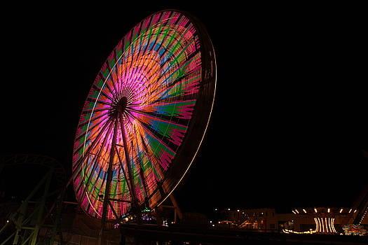 Ocean City ferris wheel 2 by George Miller