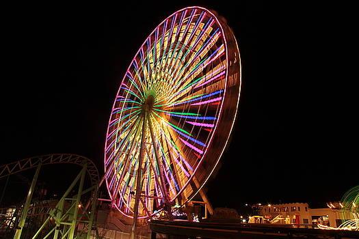 Ocean City ferris wheel1 by George Miller