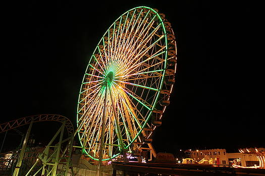 Ocean City ferris wheel3 by George Miller