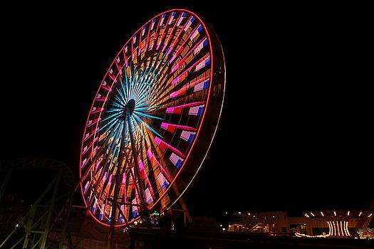Ocean City ferris wheel6 by George Miller