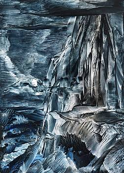 Ocean Cliffs by Cathy Minerva