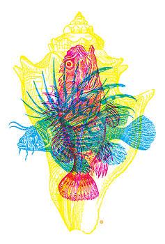 Ocean Creatures by Gary Grayson