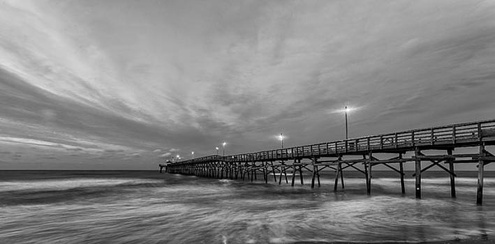 Ocean Crest Pier Sunrise by Nick Noble