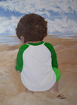 Ocean Dunes by Vickie Roche