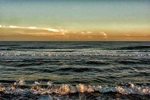 Ocean Dusk by Robert Brown